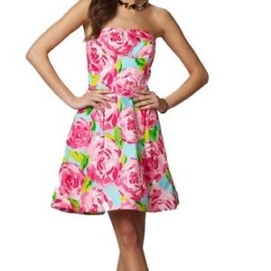 Lilly Pulitzer rare first impressions Strapless 0